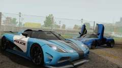 Koenigsegg Agera R for GTA San Andreas