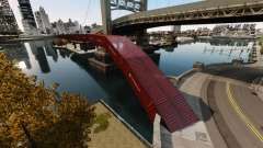 New bridge in East island city for GTA 4