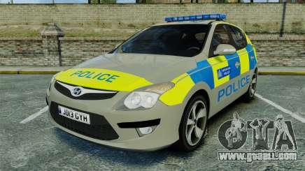 Hyundai i30 Metropolitan Police [ELS] for GTA 4