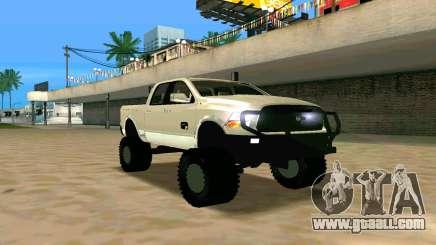 Dodge Ram 4x4 for GTA San Andreas