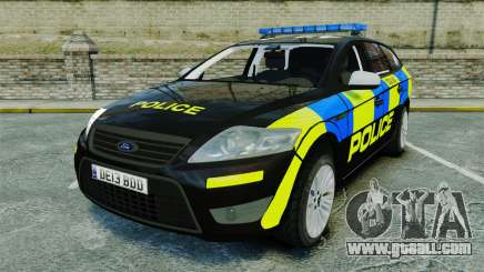 Ford Mondeo Estate Police Dog Unit [ELS] for GTA 4