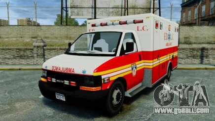 Brute FDLC Ambulance [ELS] for GTA 4