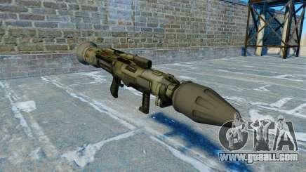 Anti-tank grenade launcher JAW v2.0 for GTA 4