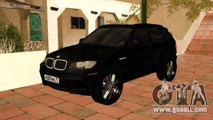 BMW X5 E70 2009 for GTA San Andreas