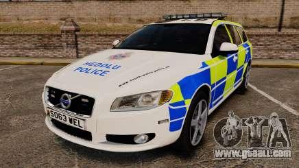 Volvo V70 South Wales Police [ELS] for GTA 4