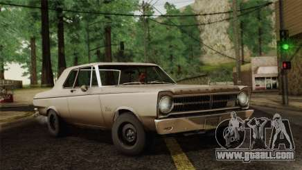 Plymouth Belvedere 2-door Sedan 1965 for GTA San Andreas