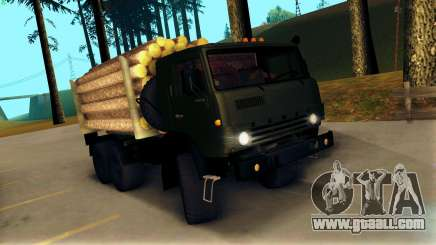 KamAZ 4310 Brevnova for GTA San Andreas