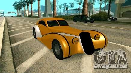 GTA V Z-type for GTA San Andreas