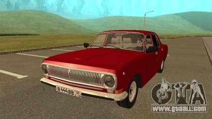 GAZ 24-10 Volga sedan for GTA San Andreas