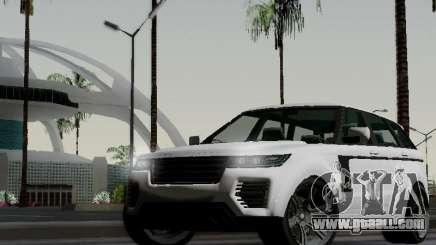 Baller 2 из GTA V for GTA San Andreas