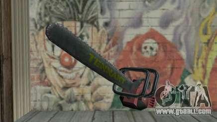 Manhunt Kettensäge for GTA San Andreas