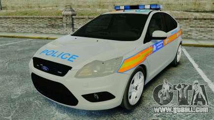 Ford Focus Metropolitan Police [ELS] for GTA 4