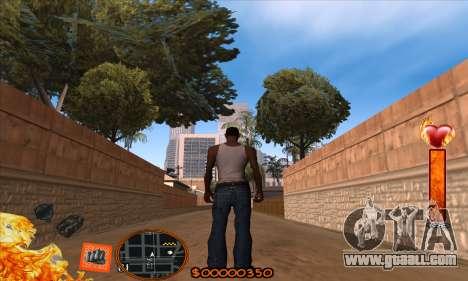 C-HUD Fire for GTA San Andreas