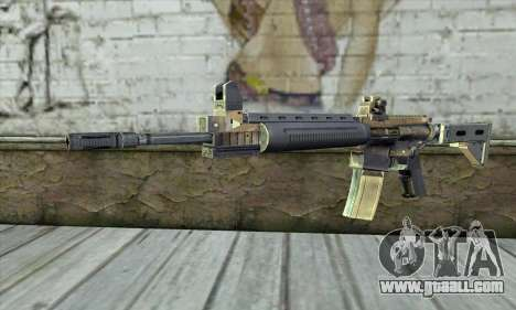 M4A1 из S.T.A.L.K.E.R. for GTA San Andreas