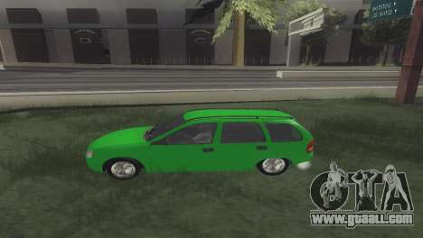 Chevrolet Corsa Wagon for GTA San Andreas left view