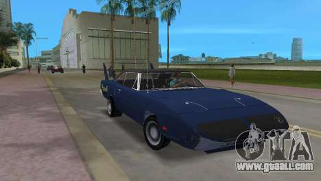 Plymouth Superbird for GTA Vice City