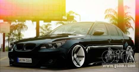 BMW M5 E60 Vossen for GTA San Andreas