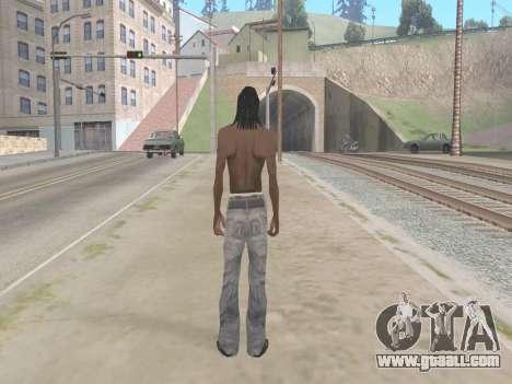 Lil Wayne for GTA San Andreas third screenshot