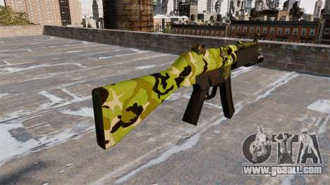 The submachine gun HK MP5 for GTA 4 second screenshot
