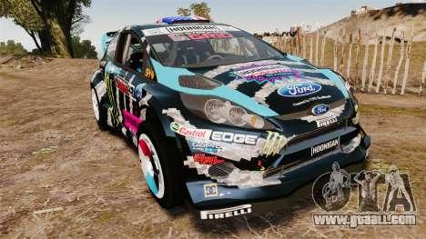 Ford Fiesta RS [Hoonigan] for GTA 4