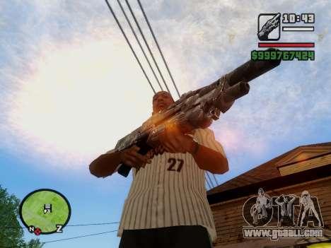 M-86 Sabre v.2 for GTA San Andreas eighth screenshot