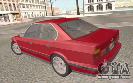 BMW M5 E34 1991 NA-spec for GTA San Andreas engine