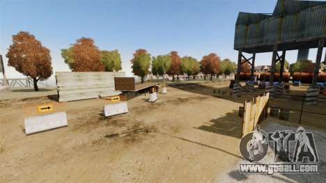 Off-road track v2 for GTA 4 ninth screenshot