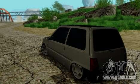 VAZ 1111 for GTA San Andreas inner view