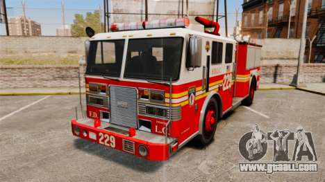 Fire Truck v1.4A FDLC [ELS] for GTA 4