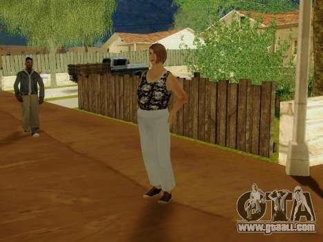 An elderly woman v.2 for GTA San Andreas third screenshot