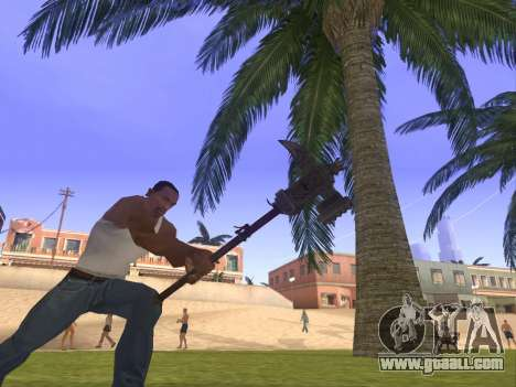 Baton Marker for GTA San Andreas second screenshot