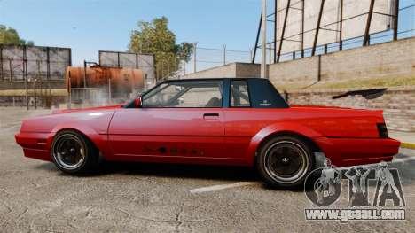 Faction Drift for GTA 4 left view