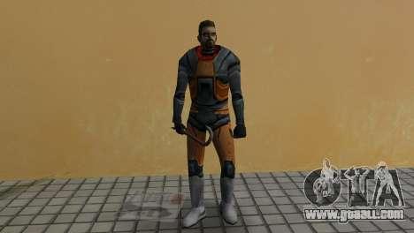 Gordon Freeman for GTA Vice City