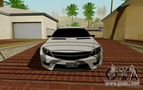Benefactor Schwarzer for GTA San Andreas left view