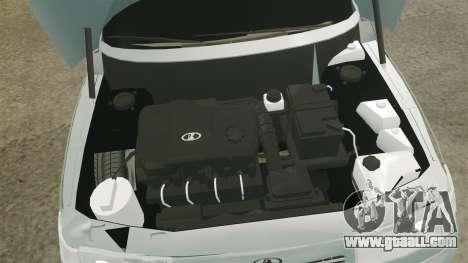 VAZ-2110 110 Bogdan for GTA 4 inner view