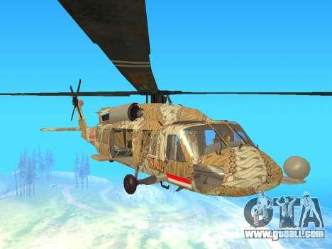 SH-60  Batik Indonesia for GTA San Andreas left view