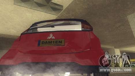 Mitsubishi i MiEV for GTA San Andreas right view