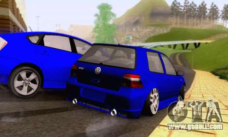 Volkswagen Golf R32 for GTA San Andreas side view