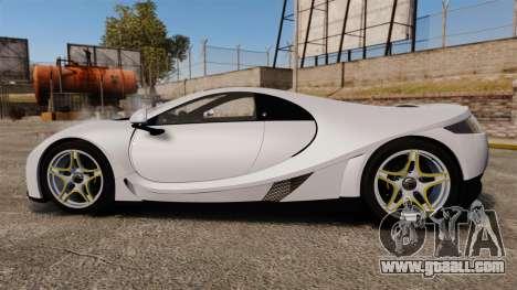 GTA Spano for GTA 4 left view