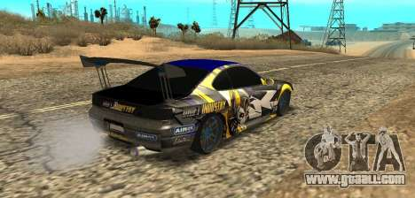 Nissan Silvia S15 Drift Industry for GTA San Andreas left view