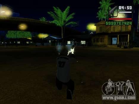 The submachine gun UZI for GTA San Andreas ninth screenshot