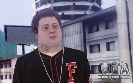 Jimmy De Santa for GTA San Andreas