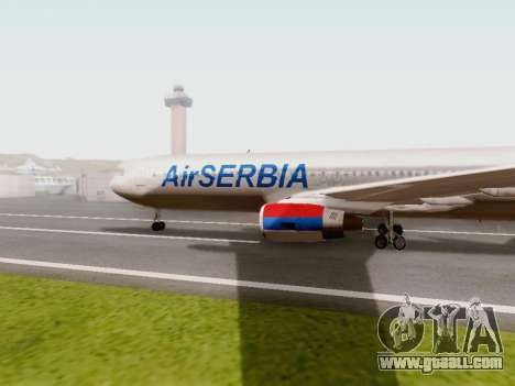 Boeing 767-300 for GTA San Andreas left view