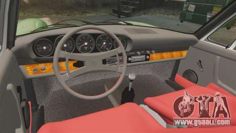 Porsche 911 Targa 1974 for GTA 4 inner view