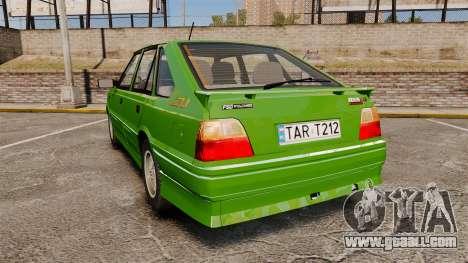 FSO Polonez Caro 1.4 GLI 16V for GTA 4 back left view