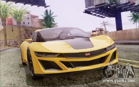 GTA V Dinka Jester IVF for GTA San Andreas left view
