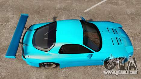 Mazda RX-7 Super Edition for GTA 4 right view