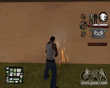 C-HUD Bikers for GTA San Andreas second screenshot