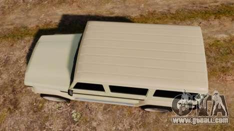 GTA V Benefactor Dubsta for GTA 4 right view