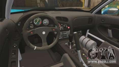 Mazda RX-7 Super Edition for GTA 4 back view